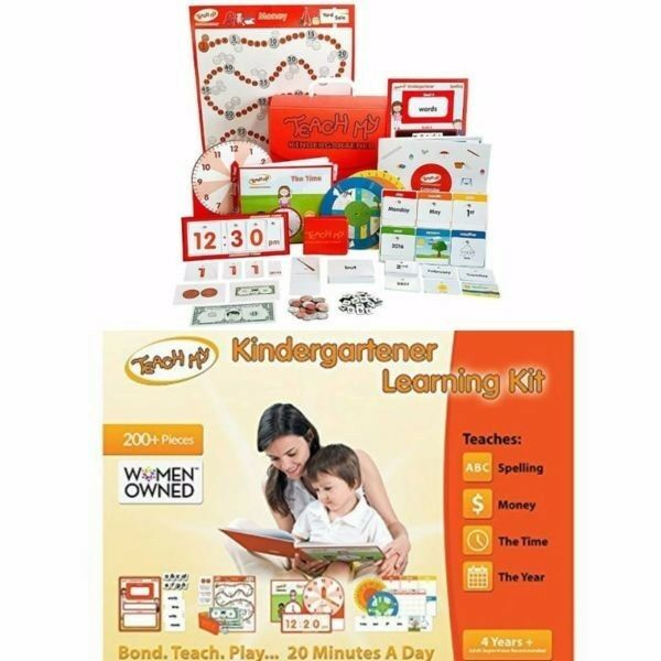 BNIB: Teach My Kindergartener Deluxe Learning Kit