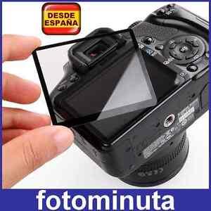 Protector-de-Pantalla-de-Cristal-Rigido-Camara-Canon-1200D-LCD-Profesional-Glass