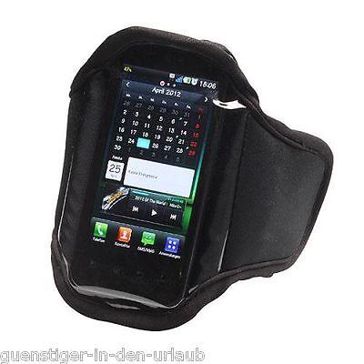 Smartphone Handytasche f. Handy iPhone MP3 Sport Joggen / Oberarm Tasche Hülle