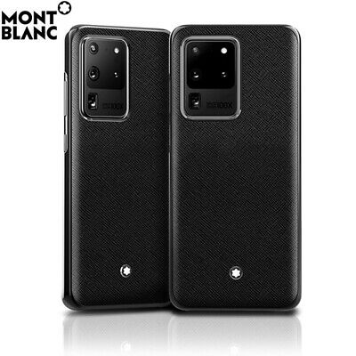Montblanc Sartorial Hard Phone Case Cover 128110 for Samsung Galaxy S20 Ultra