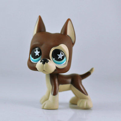 DOG DANE Animal Littlest Pet child girl boy figure loose cute Xmas LPS959