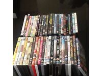 COLLECTION OF 48 DVDS OF ALL GENRES