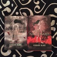 Anna dressed in blood and sequel by Kendare Blake