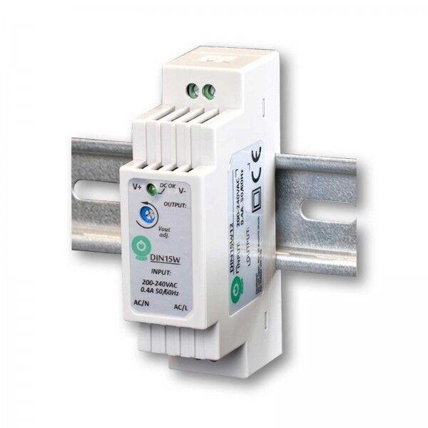 DIN LED Hutschienen-Netzteil 15W 1,25A 12V DC Tragschiene 35/7.5 35/15