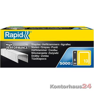 Isaberg: Heftklammer Rapid 13/08 a 5000 +++NEU+++