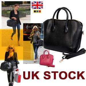 Designer-It-Bag-Handbag-Women-Suede-Leather-Splice-Tote-Messenger-Long-Strap