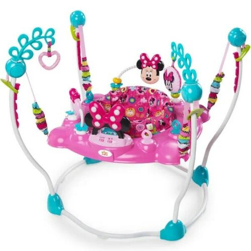 NEW BRAND - Disney Baby Minnie Mouse Peekaboo Activity Jumper