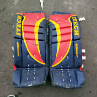 "31"" + 1 Itech Goalie Pads - Barrie Colts Colours"