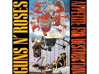 Guns N' Roses ‎– Appetite For Destruction - Original 1987 LP w/inner sleeve - RARE