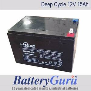 NeutonPower AGM deep cycle battery 12V15Ah (for scooter/toys) Braeside Kingston Area Preview