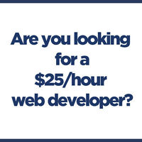 $25/hour Professional Web Designer with 15 Years of Experience