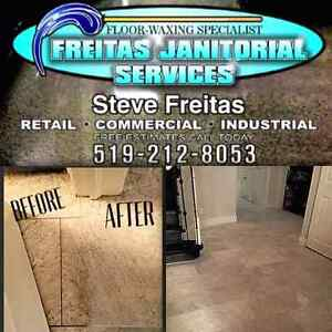 Waxing floors & grout cleaning ceramic wash carpet cleaning Cambridge Kitchener Area image 2