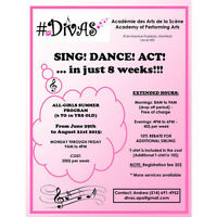 #DIVAS PERFORMING ARTS - SUMMER PROGRAM