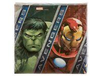 Marvel Avengers Napkin x 20