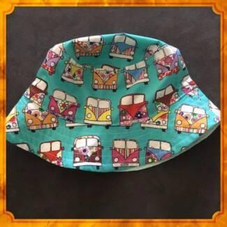 Newborn to Childrens Handmade Items - Bucket Hats, Shorts,Dresses
