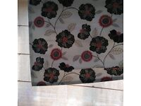 Roman blind complete with track part of set