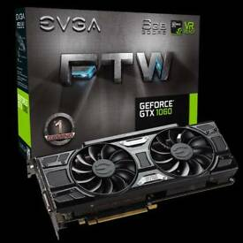 EVGA GeForce GTX 1060 6GB FTW+ VR gaming video graphics card