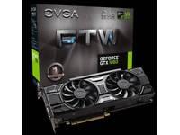 EVGA GeForce GTX 1060 6GB FTW+ VR gaming video graphics card