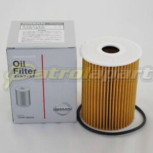 Nissan Patrol GU Genuine Oil Filter Suit ZD30 (152092W200W)