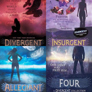 Divergent Series by Veronica Roth Paperback