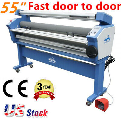 55 1400mm Full-auto Wide Format Cold Laminator Large Cold Laminating Machine