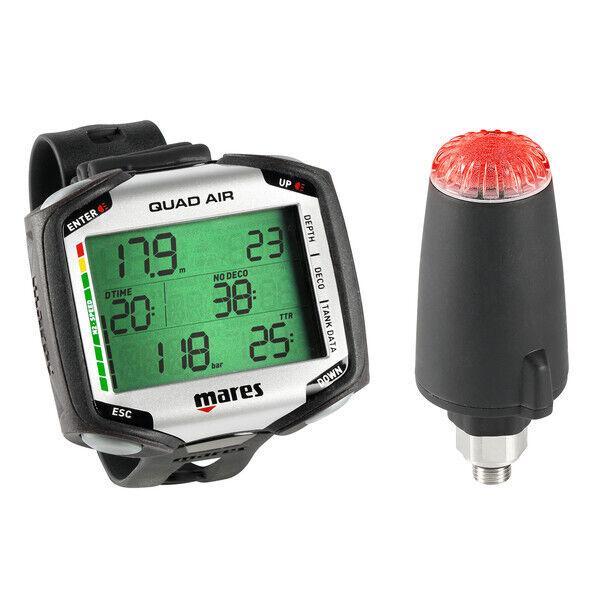 Mares Quad Air w/ LED Transmitter