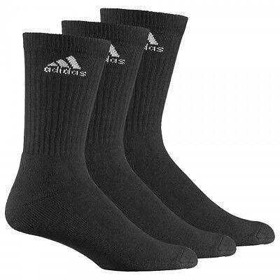 Adidas Damen Herren Socken Adicrew HC Tennissocken Strümpfe 3er Pack AA2298 NEU