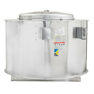 Hoodmart 28b3 Belt Drive Exhaust Fan - For Commercial Kitchen Hoods 10ft