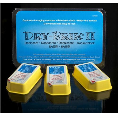 Dry-Brik II Desiccant Blocks Dry & Store 3 PACK Dry Brik USA SELLER