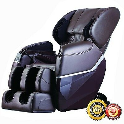 New Electric Full Body Massage Chair Foot Roller Zero Gravity w/Heat