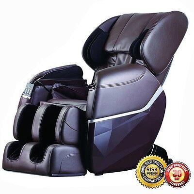 New Electric Full Body Massage Chair Foot Roller Zero Gravity w/Heat