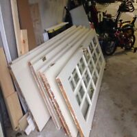 good condition French doors