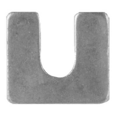 """304SS Stainless Steel Type B .010/"""" 3/"""" x 3/"""" Accushim 3//4/"""" Slotted Shim 20"""