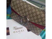 Gucci cross body canvas beautiful item