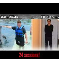 Fitness Trainer Weight Loss Few Spots Remain