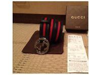 Nearly New Gucci Belt