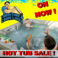 *SPECIAL ON NEW HOT TUBS*