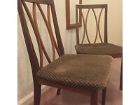 Two g plan chairs