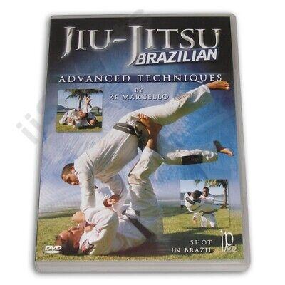 Brazilian Jiu Jitsu Advanced Techniques DVD Ze Marcello ground free fighting