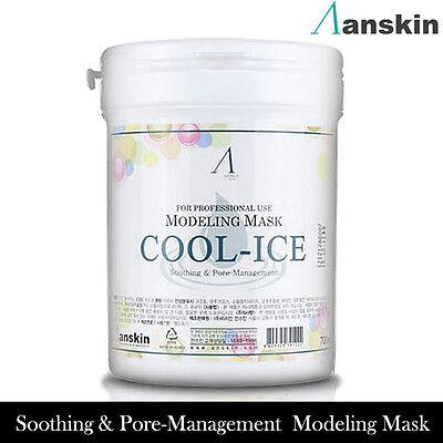 Anskin Original Modeling Powder Cool-Ice Mask Pack 700ml Korea cosmetics elastic