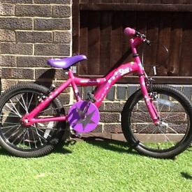 Girls box bike