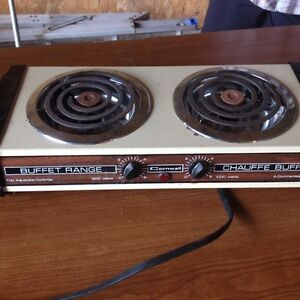 SOLD!  Two burner electric