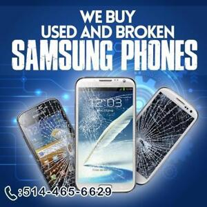 CASH Paid for IPhone 6, 6s 6+s and SAMSUNG s6, s7!