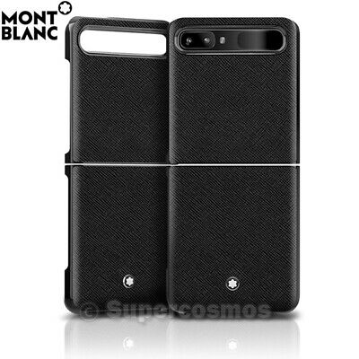 Montblanc Sartorial Hard Phone Case Cover 128111 for Samsung Galaxy Z Flip
