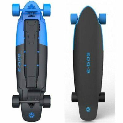 Yuneec E-GO2 Electric Longboard Skateboard - Royal Wave Blue
