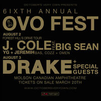 3 General Admission, 2 day Lawn Tickets OVO FEST 2015