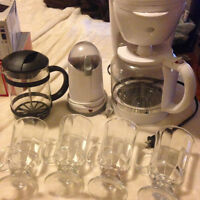 Coffee Maker/Grinder/Frother