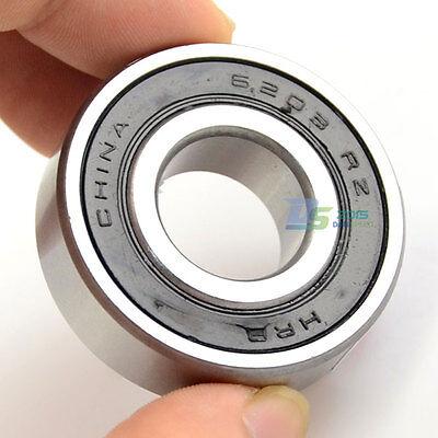 1 Pc X Rubber Sealed Deep Groove Ball Bearings 6203 Rz 2rz 17 X 40 X 12mm Hot