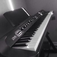 Like New Korg SV-1 Stage Piano with speakers and stand