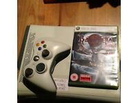 Xbox 360/Wired Contoller/HARDRIVE/Game & All leads
